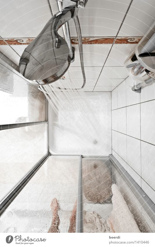 break out Personal hygiene Living or residing Bathroom Beautiful Photographic technology Shower head Shower (Installation) Shower tub Wash Subdued colour
