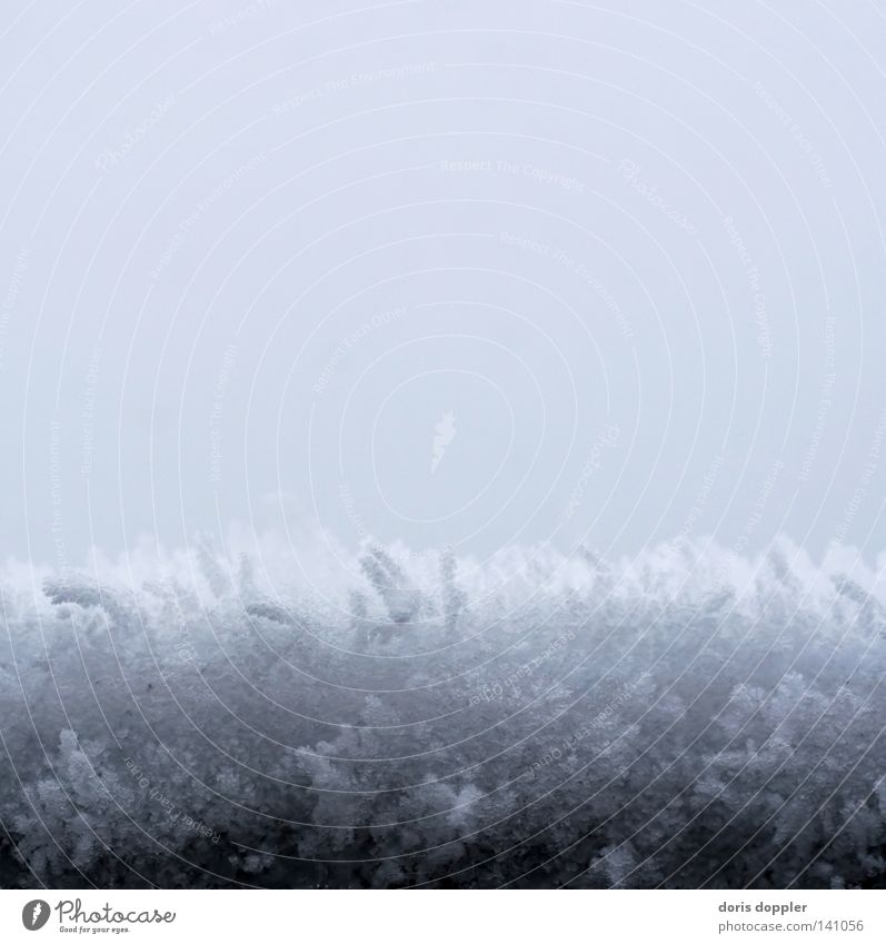 Sky Winter Cold Snow Gray Ice Square Colour Haircut Snow crystal Snow layer