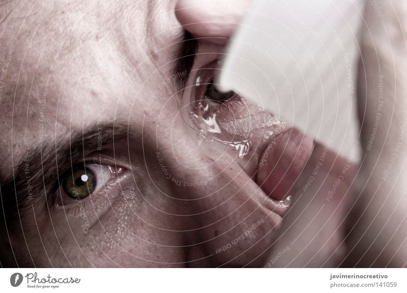 Human being Hand Face Eyes Colour Glass Nose Science & Research Pain Cry Tears Eyebrow Torture