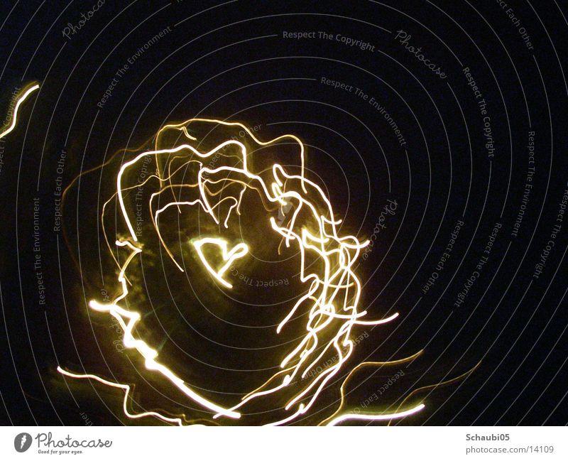 heartlight scene Night Light Electric Long exposure