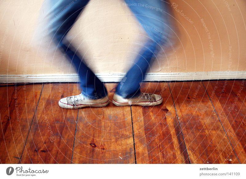 Human being Joy Jump Feet Footwear Athletic Sneakers Gymnastics Swing Knee Arise Squat