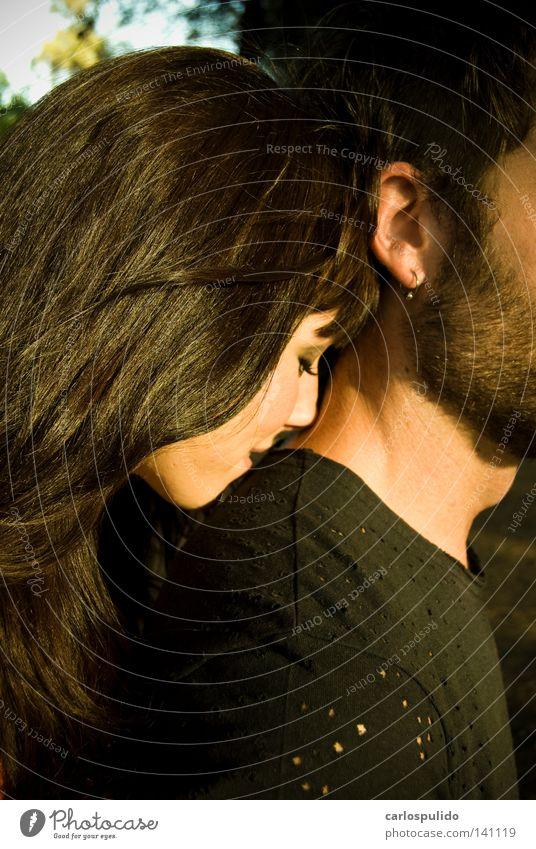 ternura Love Eros pareja couple she Together juntos Kissing beso