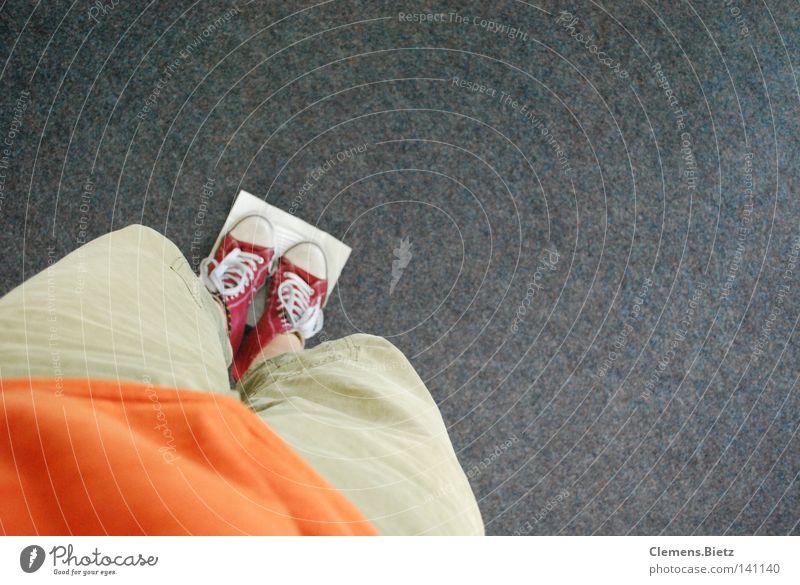 Fear Dirty Speed Floor covering Pants Chucks Sneakers Panic Handkerchief