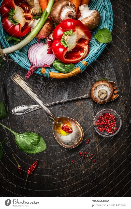 Nature Healthy Eating Life Background picture Style Food Design Fresh Nutrition Table Cooking & Baking Herbs and spices Kitchen Vegetable Organic produce Bowl