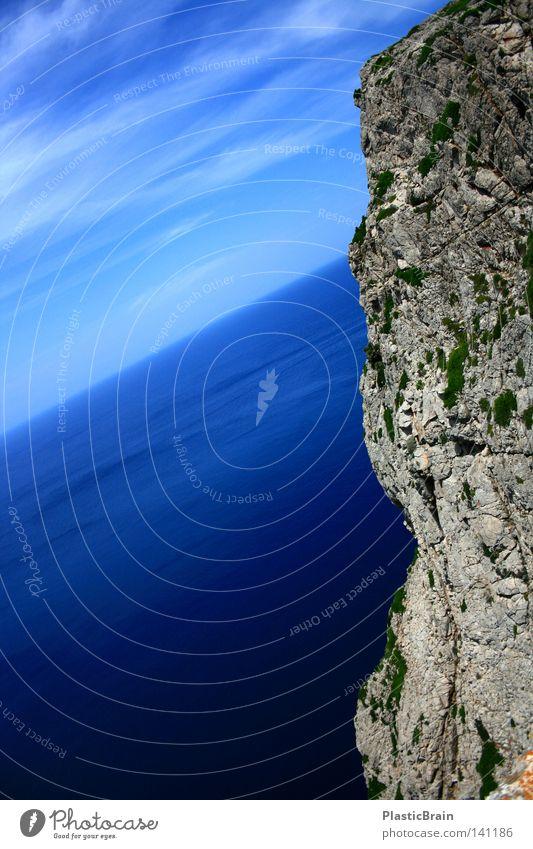 Nature Water Sky Ocean Blue Summer Beach Clouds Mountain Landscape Air Coast Large Spain Majorca