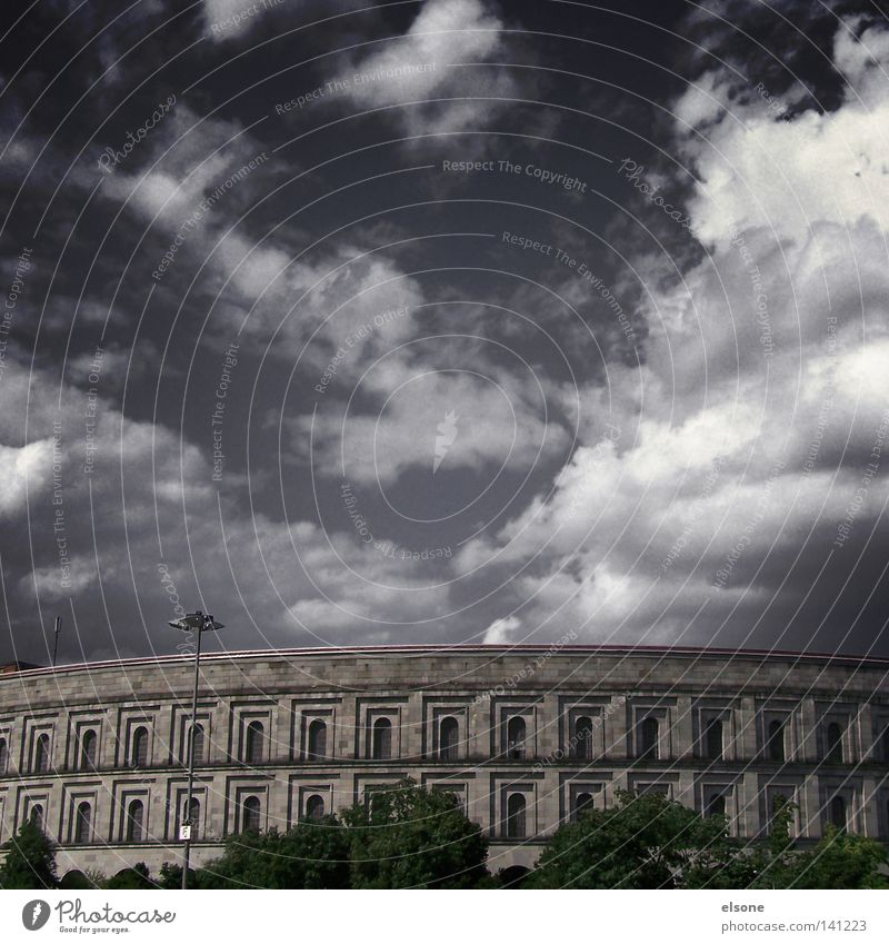 Clouds Historic Company Bavaria Olympia Greece Nuremberg Nuremburg Congress Hall