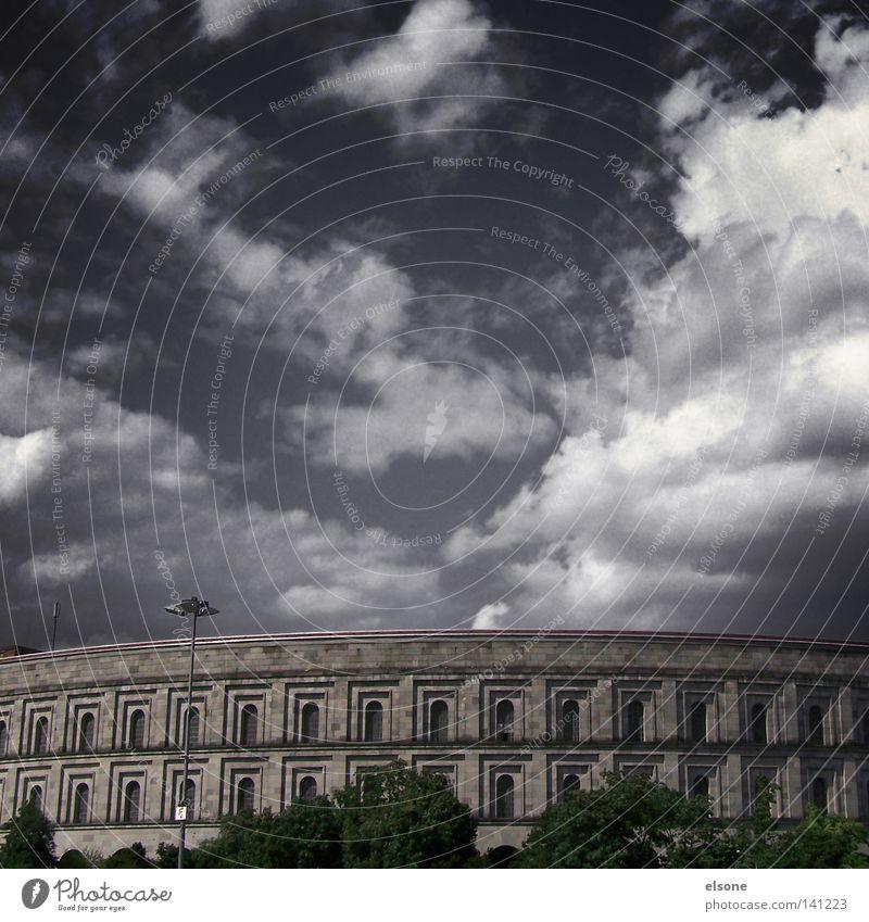 Clouds Historic Company Bavaria Olympia Greece Nuremberg Nuremburg Congress Hall