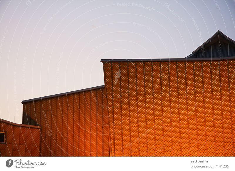 Sky Summer Clouds Berlin Wall (building) Architecture Facade Modern Culture Point Concert Event Monument Landmark Dusk