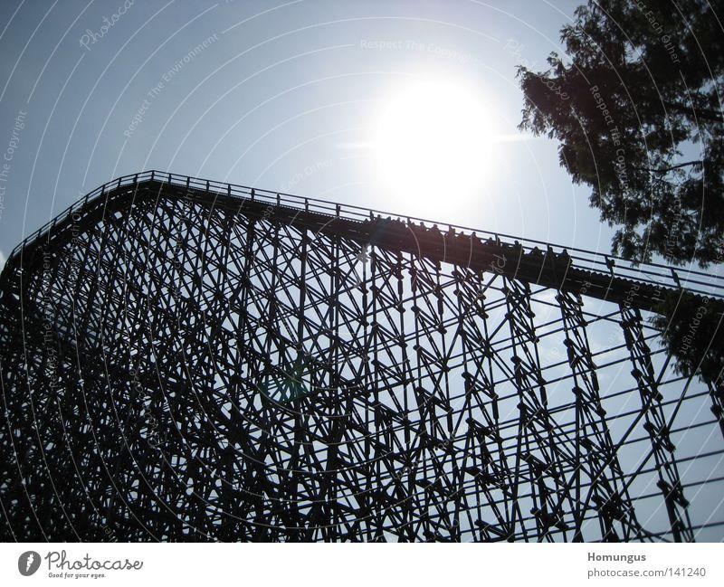 Modern Roller coaster Amusement Park Soltau