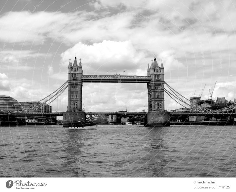 Bridge Monument Historic London Tower Bridge