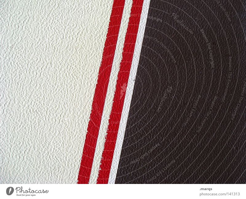 The Red Stripes White Brown Structures and shapes Abstract Minimal 2 Background picture Surface Colour Line Reduce Double exposure racing strip rally strip ...