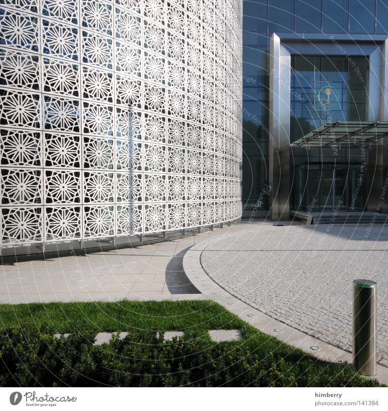 House (Residential Structure) Cold Window Wall (building) Berlin Architecture Grass Style Lanes & trails Wall (barrier) Stone Building Art Work and employment