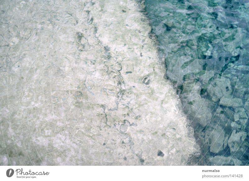 Blue Water Ocean Summer Warmth Emotions Movement Sand Waves Island Fish Ground Corner Physics Analog Mussel