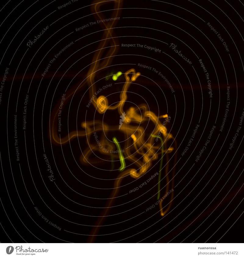 Green Black Dark Craft (trade) Abstract Spook