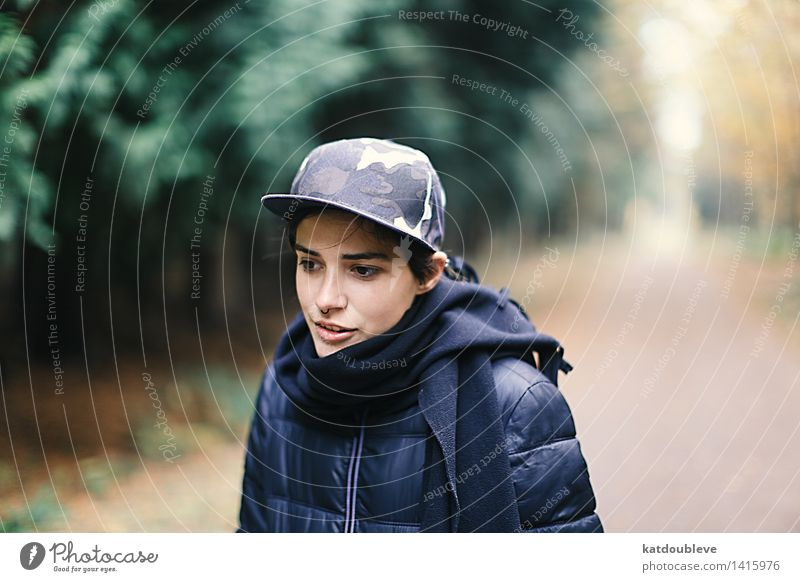Sorry To Disturb You But I'm Lost Feminine Androgynous Homosexual Environment Nature Autumn Park Forest Think Study Looking Esthetic Authentic Cool (slang)