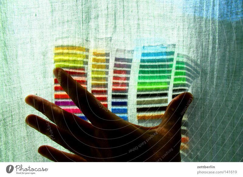 Colours behind curtains Dye Colour wheel Colour palette Blaze of colour Colour defect Packing film Light Neon sign Multicoloured Spectral Rainbow Colour tone