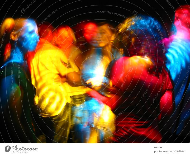 Human being Blue Colour Red Joy Yellow Feasts & Celebrations Group Party Lamp Music Dance Light Disco Club Night life