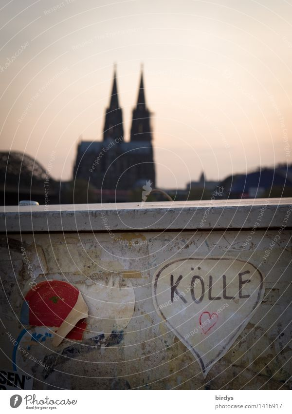 Hell for lovers Lifestyle Vacation & Travel Tourism City trip Going out Feasts & Celebrations Cologne Dome Wall (barrier) Wall (building) Tourist Attraction