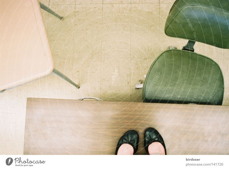 """""""Would you like to read that note to the class?"""" Woman Feet Table Stand Desk Partially visible Section of image Tabletop Misplaced Office chair Exposed Ballerina Women`s feet Table edge"""