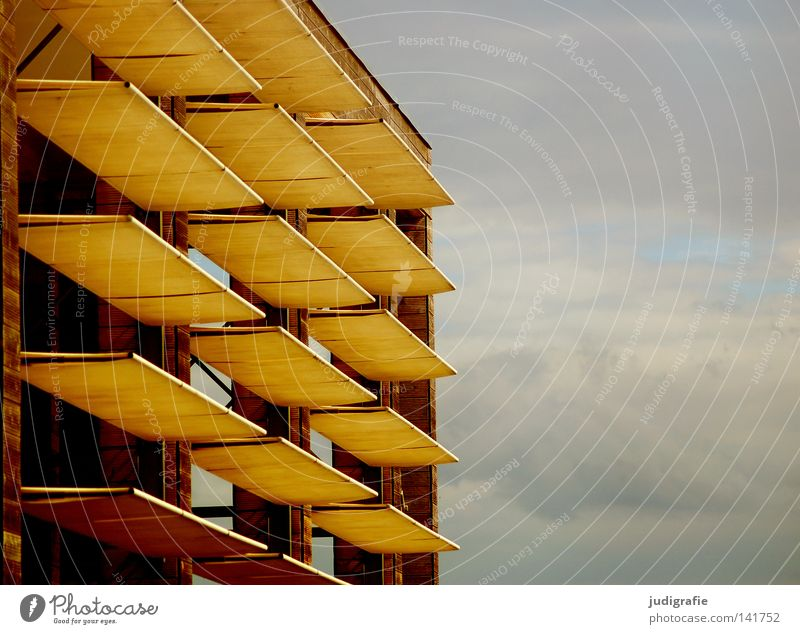 Clear view Manmade structures Building Sun sail Weather protection Sun blind Aperture Hannover Sky Clouds Line Arrangement Streamline Architecture Colour