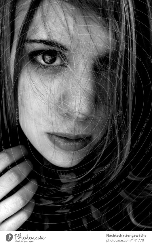 Untitled Strand of hair Aimless Eyes Caresses Hand Lips Thoughts:Networking touched.
