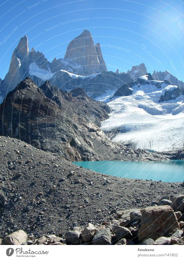 Fitz Roy Argentina Backpacking Fitz Roy mountain