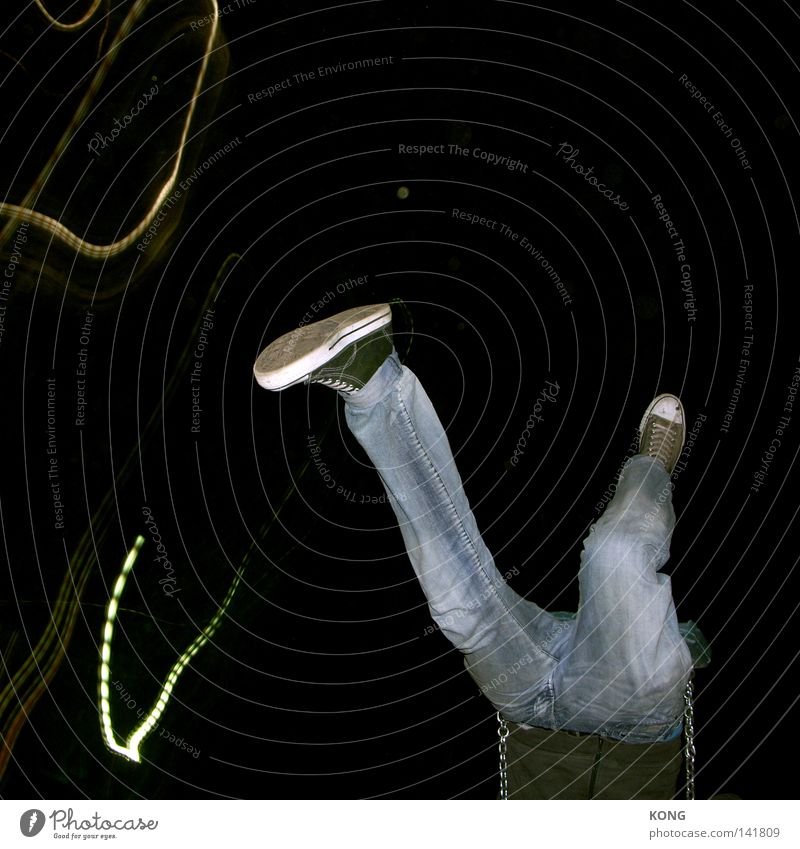Joy Dark Feet Footwear Legs Legs Fear Airplane Going Walking Flying Speed Jeans Wing To fall Dive