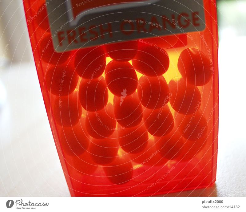 Nutrition Lamp Orange Sweet Candy Candy