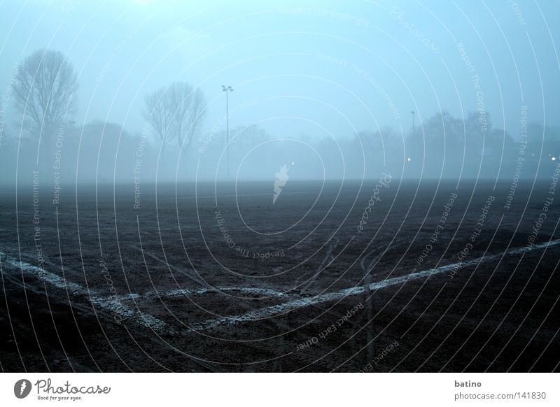 Playing Germany Fog Soccer Football pitch Ball sports Neuss district