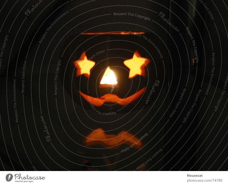 Halloween Hallowe'en Light Creepy Obscure Pumpkin