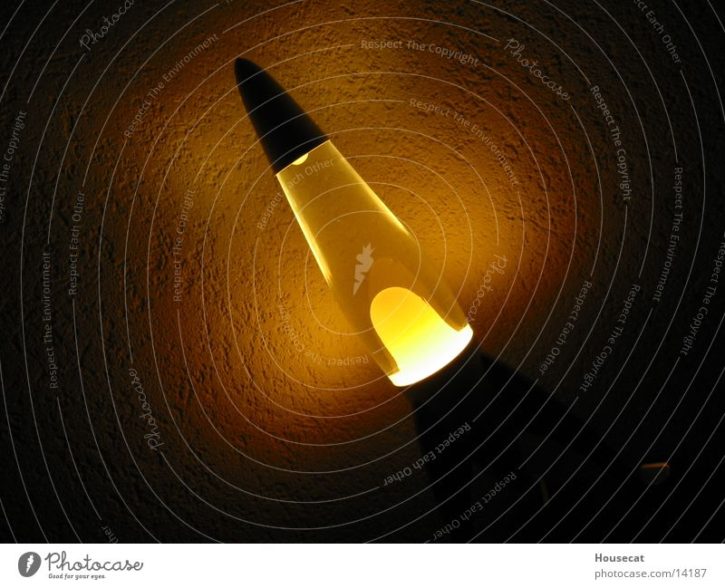 Lamp Dark Obscure Reaction Wax Lava lamp