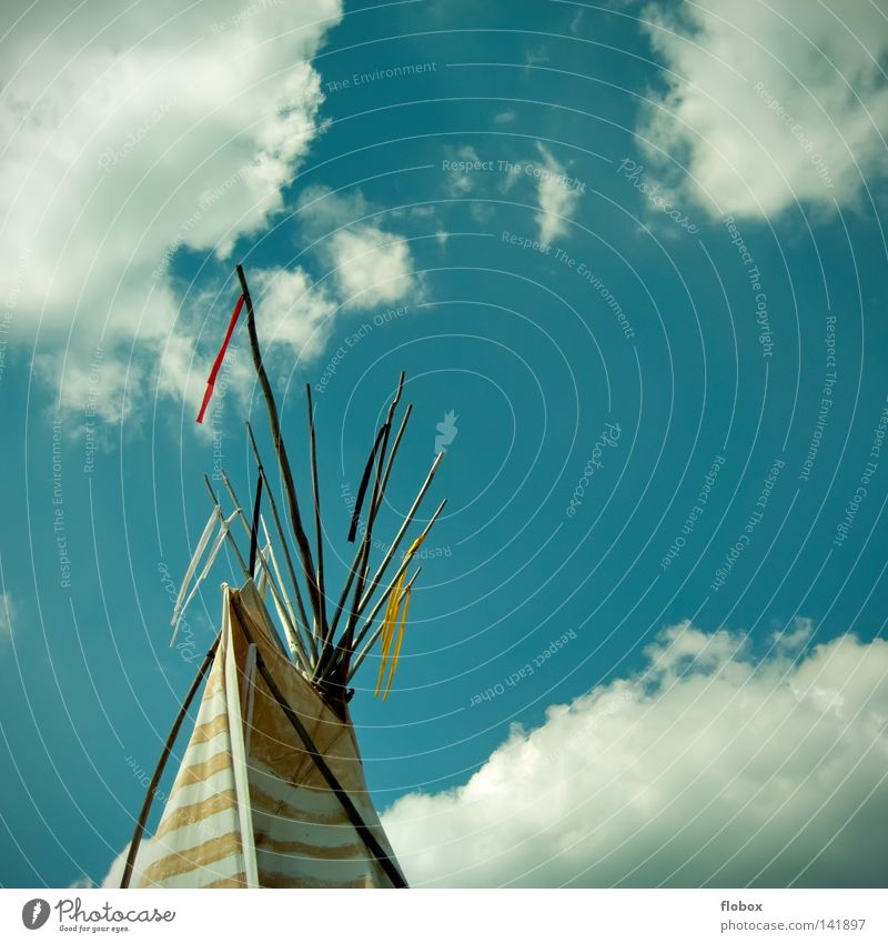 Are you still living or are you alive? Tee Pee Tent Native Americans Chieftain Flag North America Winnetou House (Residential Structure) Accommodation
