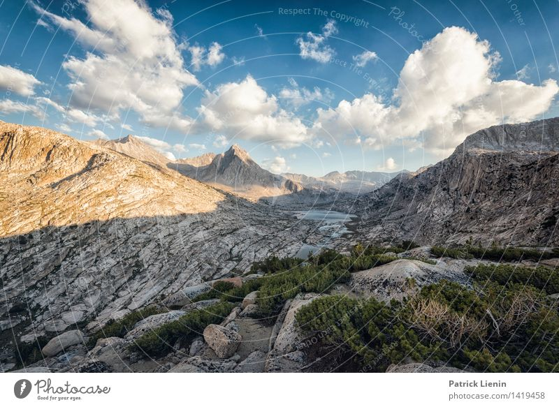 Mather Pass Contentment Senses Relaxation Vacation & Travel Trip Adventure Far-off places Freedom Environment Nature Landscape Elements Air Sky Clouds Sunrise