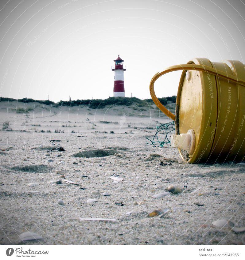 White Ocean Red Beach Yellow Environment Coast Sand Round Beach dune North Sea Lighthouse Sandy beach Oil Striped Environmental pollution
