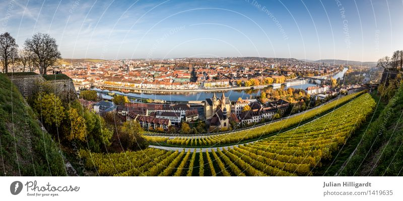 wide Würzburg Lifestyle Leisure and hobbies Vacation & Travel Trip Adventure Far-off places Freedom Sightseeing City trip Environment Nature Landscape Sky Town