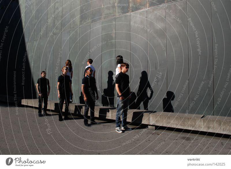 fashion files Tattoo Tattoo studio Sunglasses Shadow Shirt T-shirt Shows Group Band Man Woman Appearance Looking Image (representation) Sensation Direction