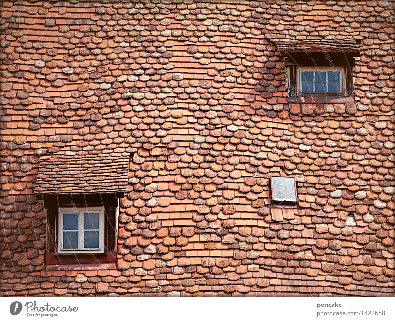 geometric   of space and time Building Architecture Window Roof Esthetic Exceptional Historic Town Contentment Movement Design Nostalgia Change Know