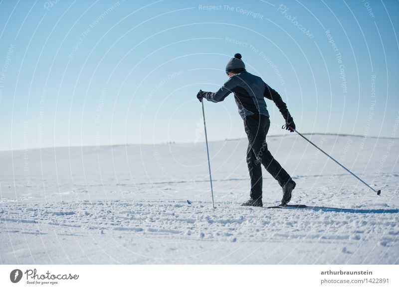 Human being Sky Nature Youth (Young adults) White Young man Landscape Winter Cold Adults Life Movement Snow Sports Masculine Leisure and hobbies