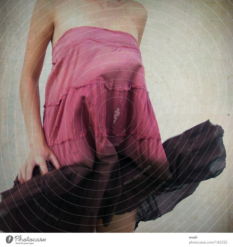Woman Hand Arm Pink Clothing Dress Violet Shoulder