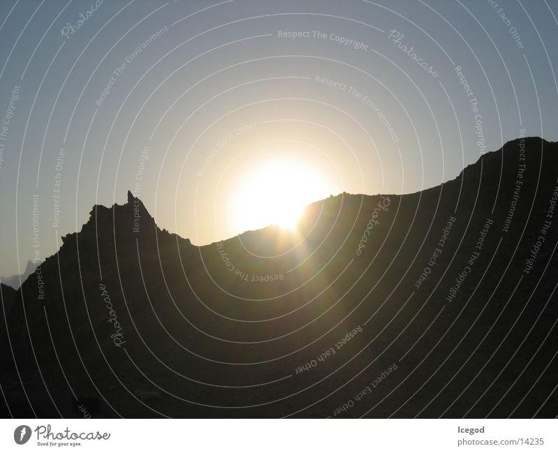 Sun Desert Egypt