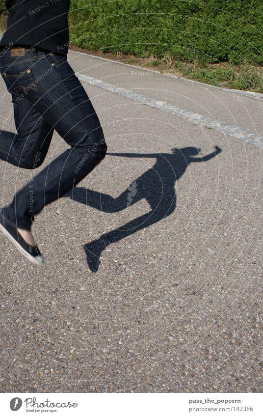 Summer Joy Street Jump Movement Legs Jeans Applause Forrest Gump