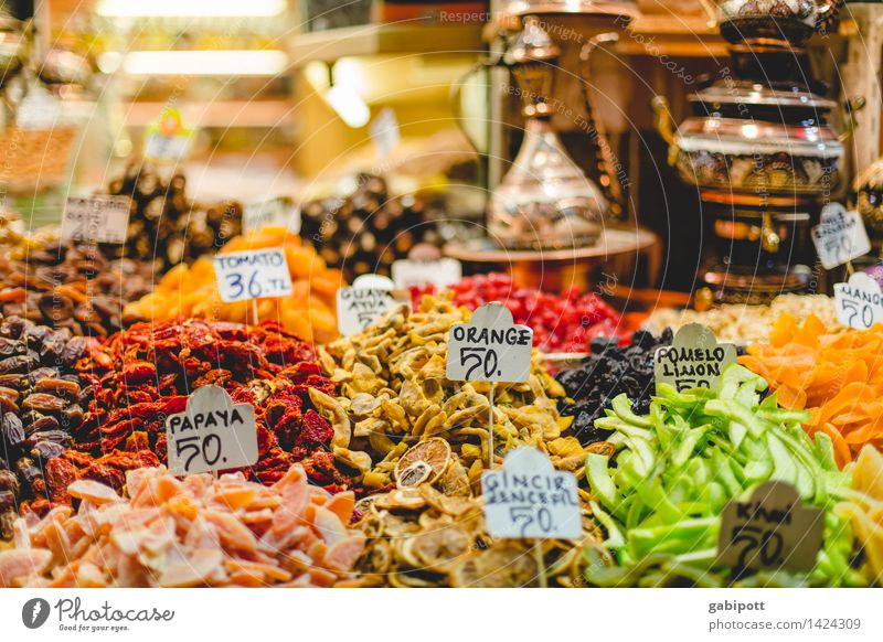 Spice bazaar I Healthy Wellness Life Harmonious Well-being Contentment Senses Fragrance Tourism Trip Far-off places Sightseeing City trip Istanbul Old town