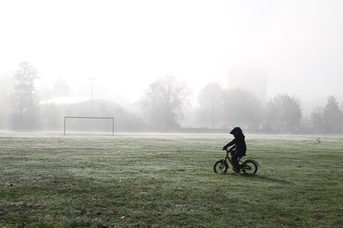 little cyclist Leisure and hobbies Playing Sports Fitness Sports Training Sportsperson Cycling Bicycle Human being Masculine Child Boy (child) 1 3 - 8 years