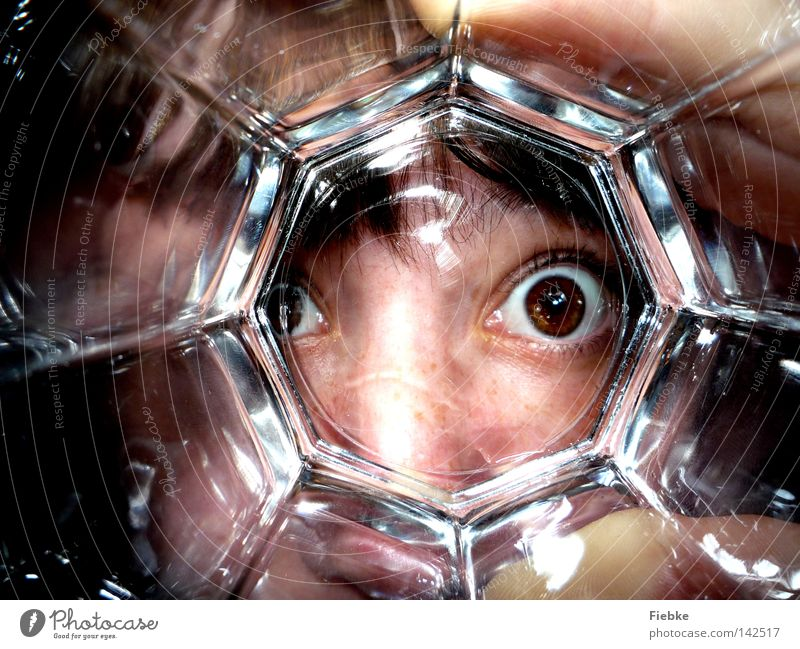 Woman Human being Water Hand Joy Face Eyes Head Hair and hairstyles Funny Brown Glass Glass Large Nose Drinking water