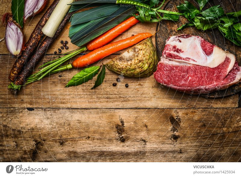 Healthy Eating Life Style Background picture Food Design Nutrition Table Cooking & Baking Herbs and spices Kitchen Vegetable Organic produce Meat Dinner Diet