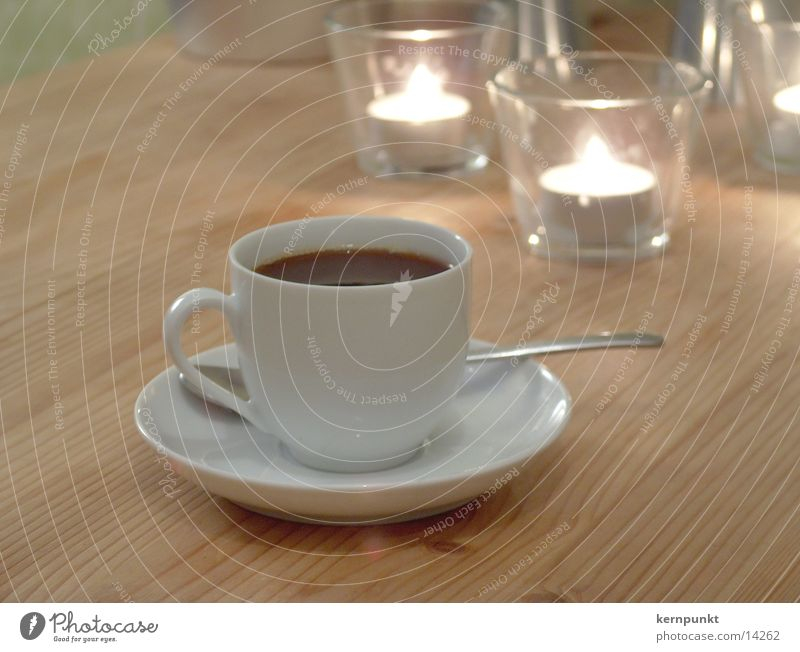 Candle Coffee Café Cup Gastronomy Espresso