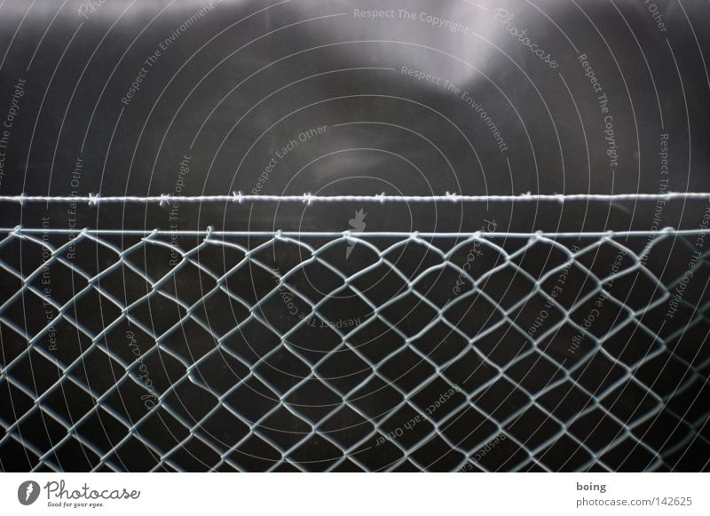 Safety Mysterious Fence Martial arts Spy Barbed wire Wire netting fence Discretion Exclusion zone Industrial espionage