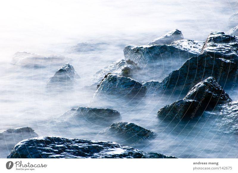 Nature Water Ocean Blue Stone Rock Speed Electricity Dangerous River Threat Fluid Brook Flow Surf Current