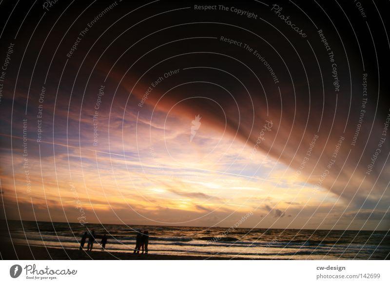 Human being Sky Man Water Vacation & Travel Sun Ocean Summer Beach Joy Clouds Calm Relaxation Coast Freedom Jump