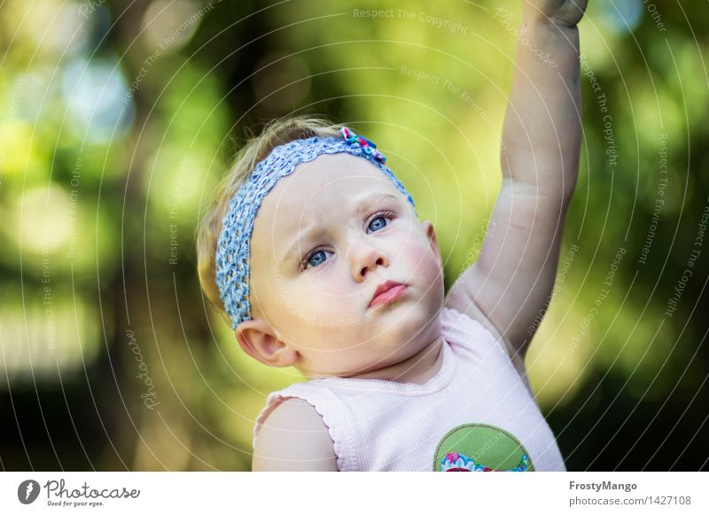 Human being Nature Tree Life Emotions Garden Fear Idyll Infancy Uniqueness Beautiful weather Kitsch Surprise Toddler Reluctance Inhibition